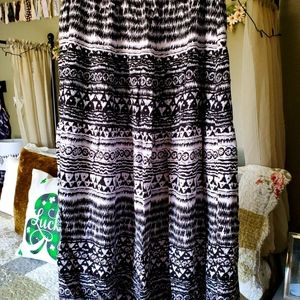Tiered maxi skirt from international inc company